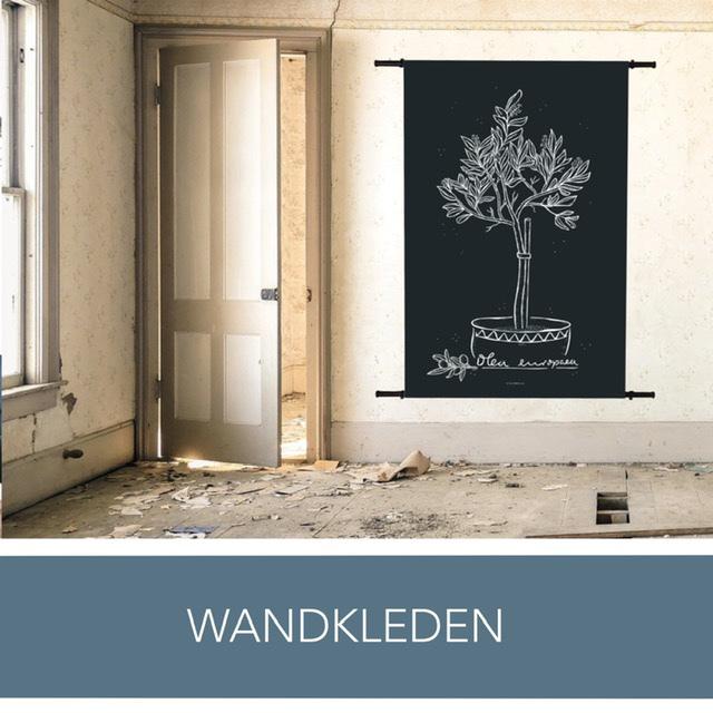 Wandkleed | Wanddecoratie | Wanddoek | Wandbehang | Behang | Muurdecoratie