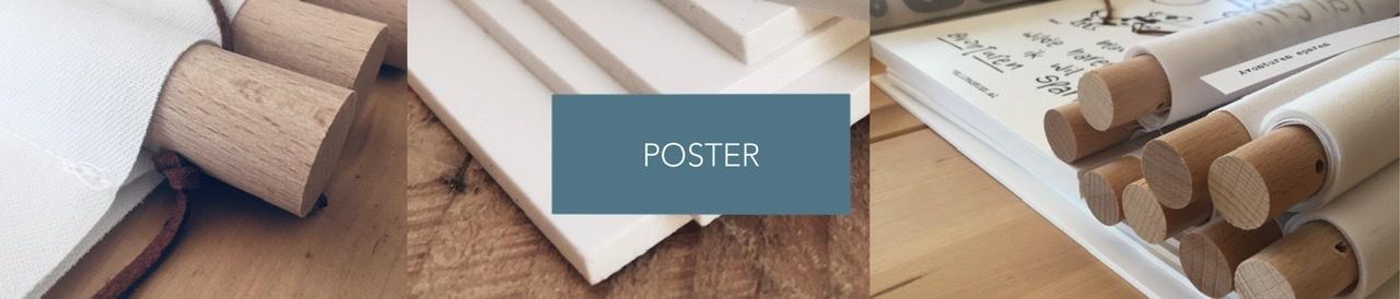 Poster textielposter forexposter