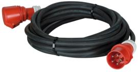 Showtec Extension Cable, 32A 415V, 5 x 6,0 mm2 10m