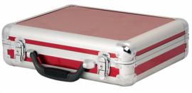 DAP-Audio case for 7 microphones rood