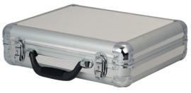 DAP-Audio case for 7 microphones zilver