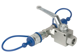 Showtec CO2 3/8 Q-lock release valve