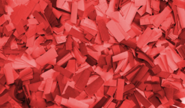 Showtec Show Confetti Rectangle 55 x 17mm Rood 1 kg