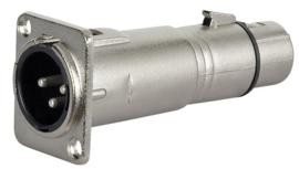 DAP-Audio FLA51 - XLR M. 3p. chassis > XLR F. 3p.