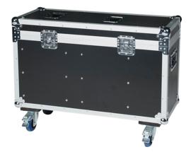 DAP-Audio case for 2x Phantom 75 Beam/Spot or 2x Phantom 95