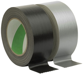 Showtec Stage Tape zwart 50mm/50m