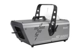 Showtec S-200X Snowmachine silent