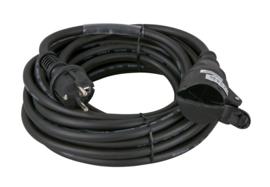 Showtec Schuko/Schuko, 10A 230V Cable 20m