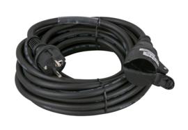 Showtec Schuko/Schuko, 10A 230V Cable 10m