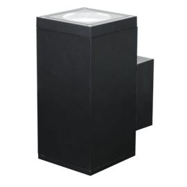 Artecta Burgos-M Square Single Zwart 120-240 VAC 18 °