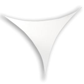 Showtec Stretch Shape Triangle 250 x 250 cm wit
