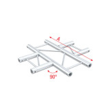 Showtec 4-Way horizontal