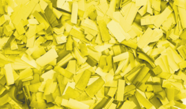 Showtec Show Confetti Rectangle 55 x 17mm Geel 1kg