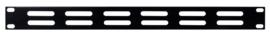 DAP-Audio 19 inch ventilationpanel black 1U