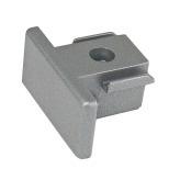 Artecta 1-Phase End Cap zilver