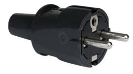 ABL PVC Schuko Connector Male