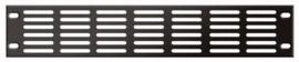 DAP-Audio 19 inch ventilationpanel black 2U