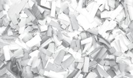Showtec Show Confetti Rectangle 55 x 17mm Wit 1 kg