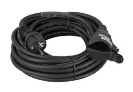 Showtec Schuko/Schuko, 10A 230V Cable 15m