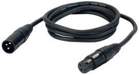 DAP-Audio FL01 - bal. XLR/M 3 p. > XLR/F 3 p. 1,5m
