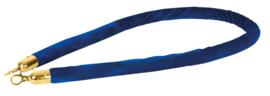Showtec Velvet Rope Gold Hook blauw