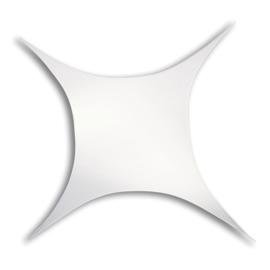 Showtec Stretch Shape Square 375 x 250 cm wit