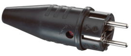 ABL Rubber Connector Male CEE 7/VII