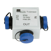 Artecta T-connect IP68 1x 4-pin male / 2x 4-pin female