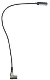 DAP-Audio gooselight XLR 4 polig right angled