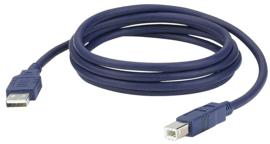 DAP-Audio FC02 - USB-A > USB-B 1,5m