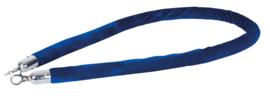 Showtec Velvet Rope Silver Hook blauw