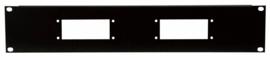 DAP-Audio 19 inch multi connector panels 2U
