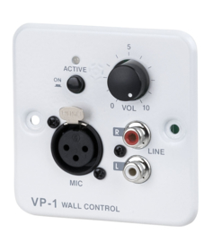 DAP-Audio MA-8120WP wall control