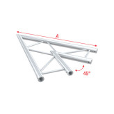 Showtec Corner 45° horizontal