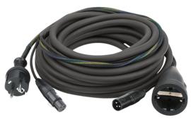 DAP-Audio FP09 - Schuko/XLR F - Schuko/XLR M 20m