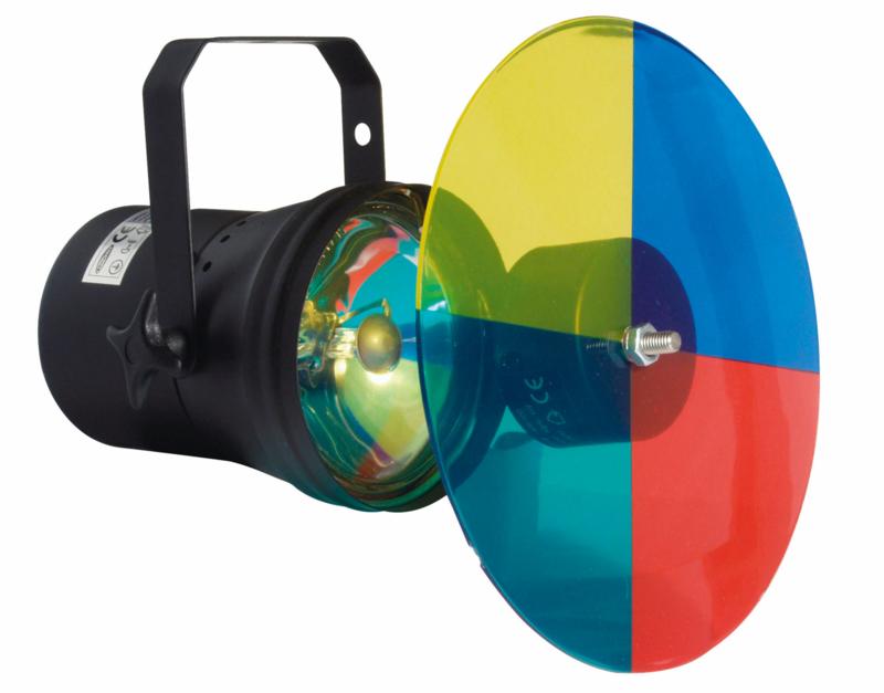 Showtec Parcan 36, Pinspot Colourchanger Set