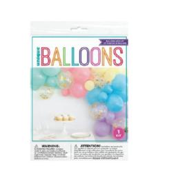 Ballonnenboogkit Pastel