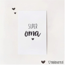Mini-kaart | Super oma