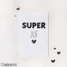 Mini-kaart | SUPER juf