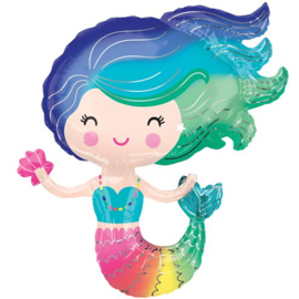 Mermaid Ballon XL