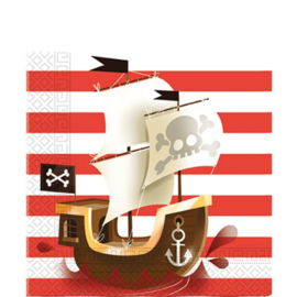 Pirates Papieren Servetten | 33 cm
