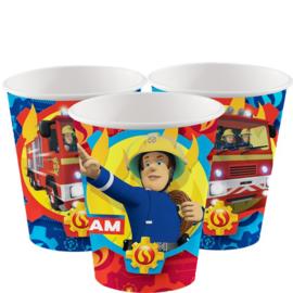 Brandweerman Sam bekers 266 ml (8st)