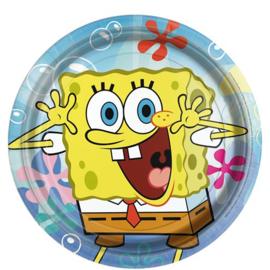Bordjes Spongebob 23cm (8st)