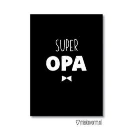 Ansichtkaart | Super opa
