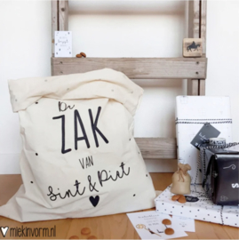 Sintzak | De zak van Sint & Piet | 49 x 70 cm