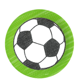 Bordjes Voetbal 23cm (8st)