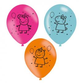 Peppa Pig | Ballonnen (6 st)