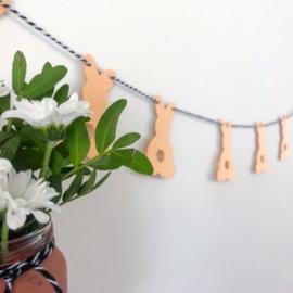 DIY slinger | Konijntjes