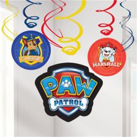 Paw Patrol | Plafond decoratie (6 st)