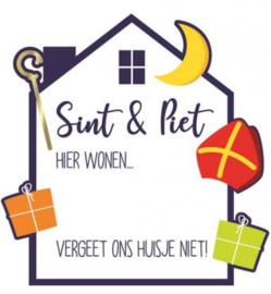 Raambord | Sint & Piet 50 cm